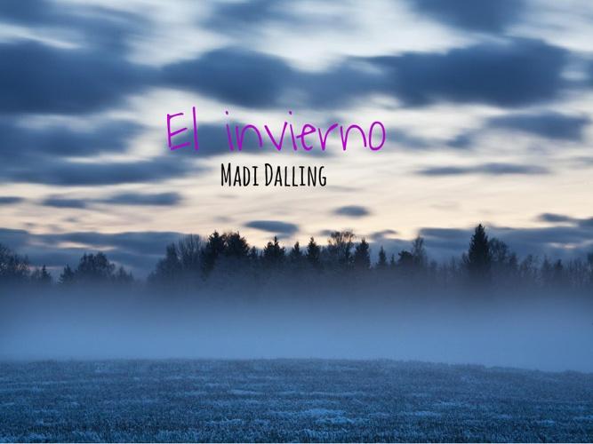 El invierno- Madi Dalling