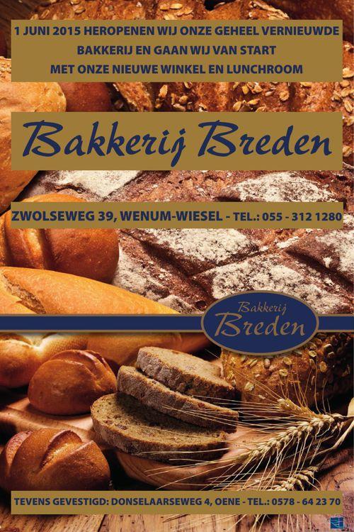 Opening Bakkerij Breden
