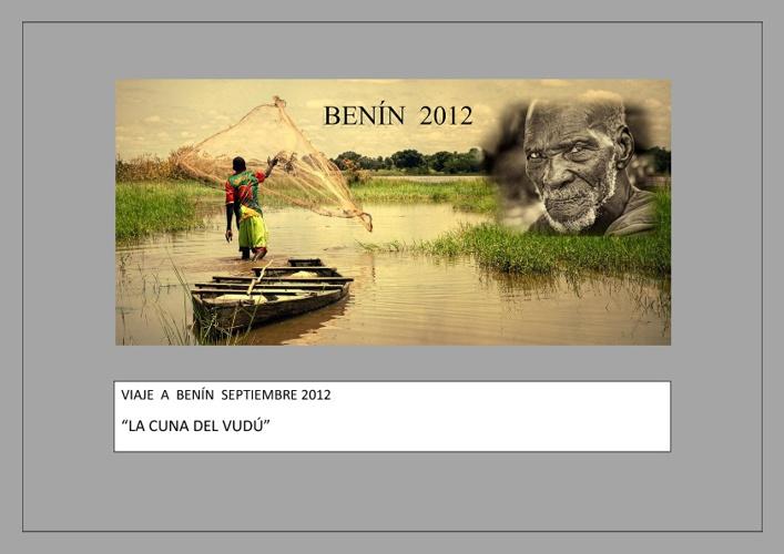 VIAJE A BENÍN SEPTIEMBRE 2012