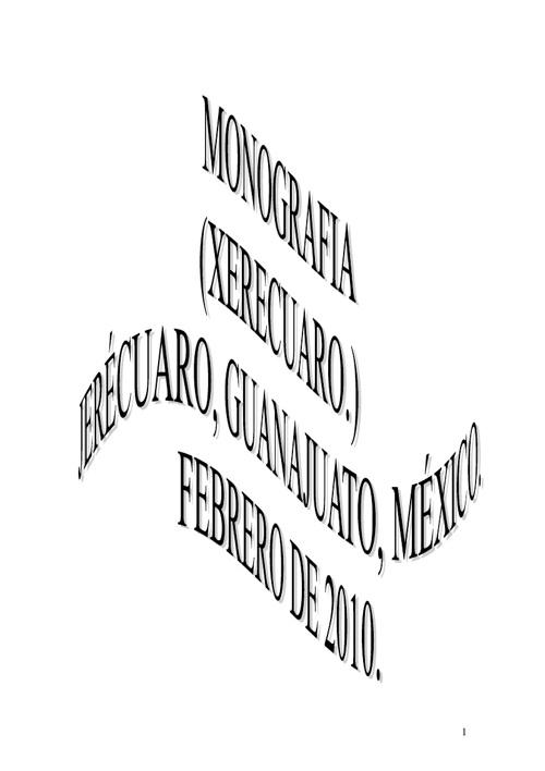 Historia de Jerécuaro