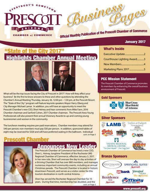 Prescott Chamber Newsletter 1-1-17
