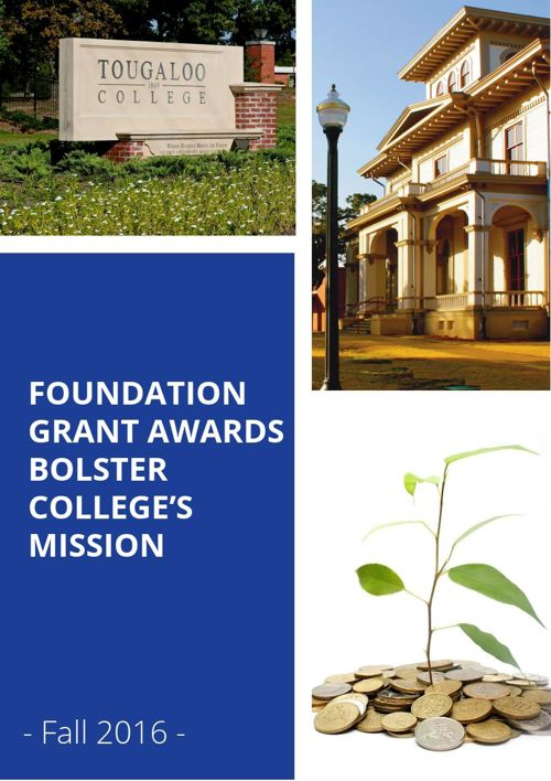FOUNDATION GRANT AWARDS BOLSTER TOUGALOO COLLEGE'S MISSION