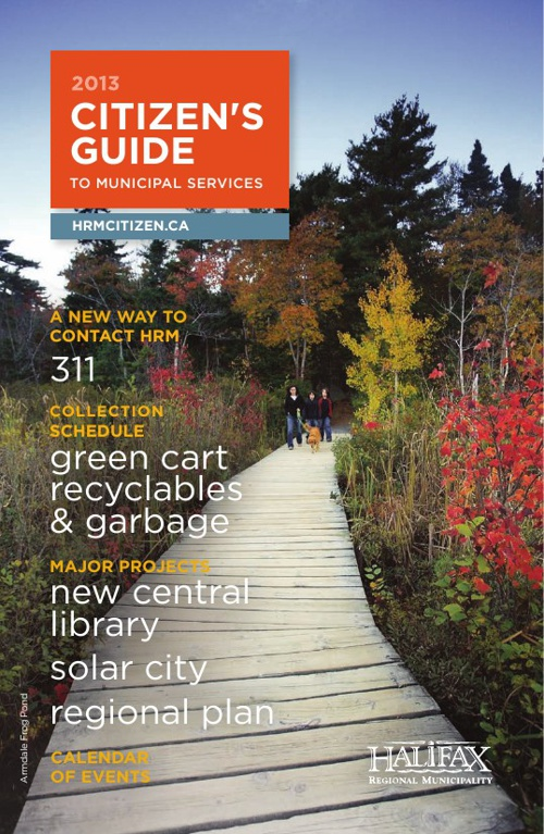 2013 HRM Citizen Guide