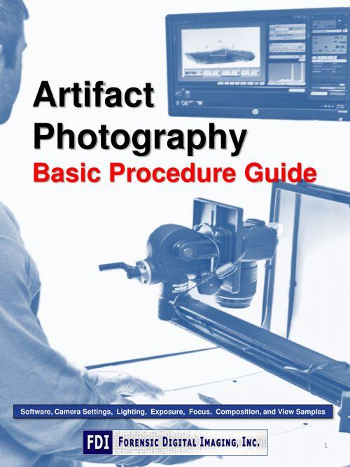 Artifact Photography Procedural Guide