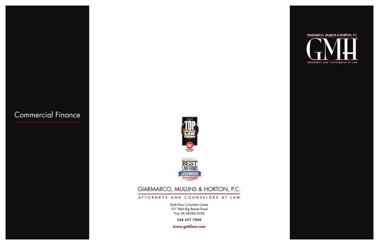 100418 GMH Comm Finance Brochure