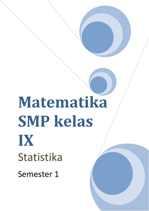 Modul Statistika Kelas IX