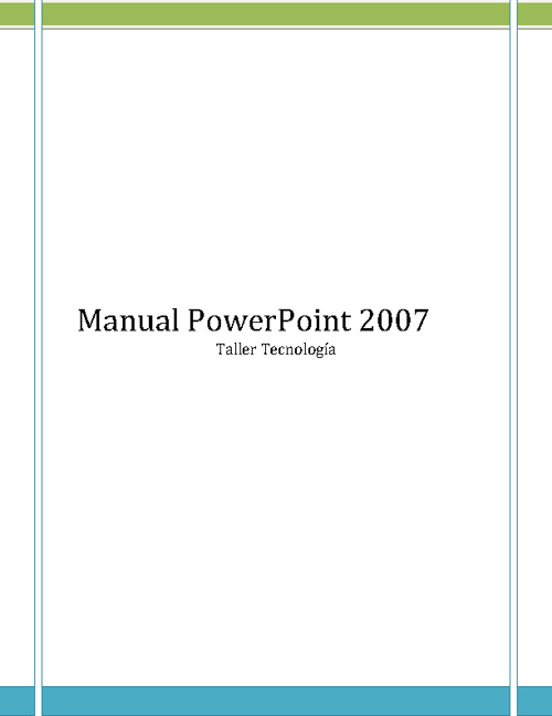 Manual de PowerPoint 2007