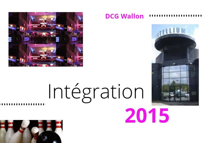 DCG intégration 2015