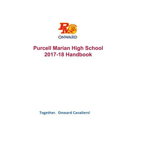 2017-18 Purcell Marian Handbook