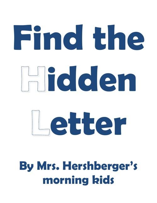 BA Hershberger AM hidden letter book 2012-2013