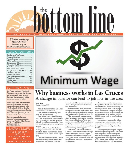 The Bottom Line August 2014