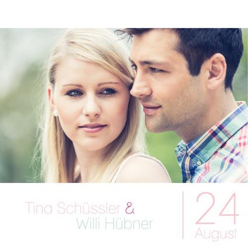 Tina & Willi | Einladung No.1
