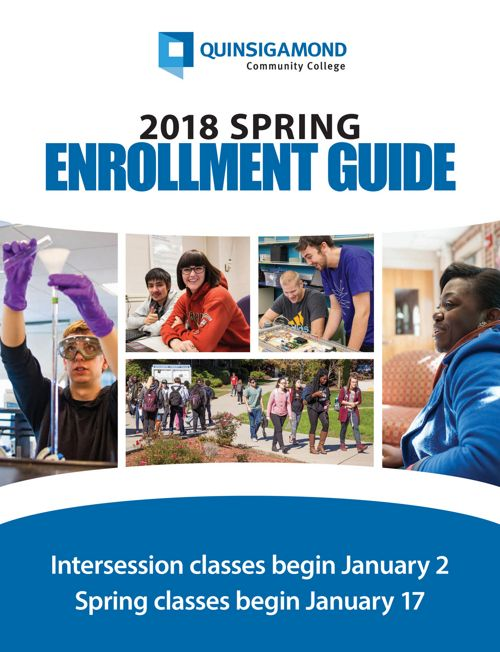 Spring 2018 enrollment guide