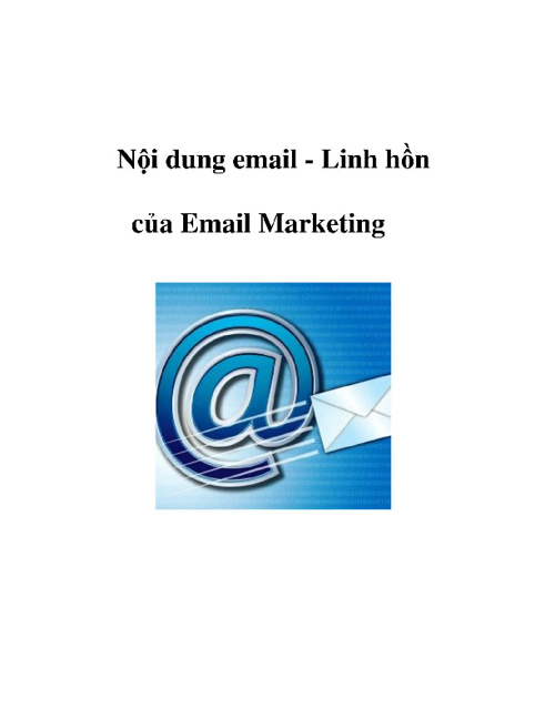 Nội dung Email - Linh hồn của Email Marketing