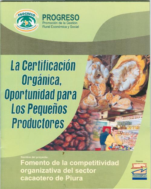 La Certificación Orgánica
