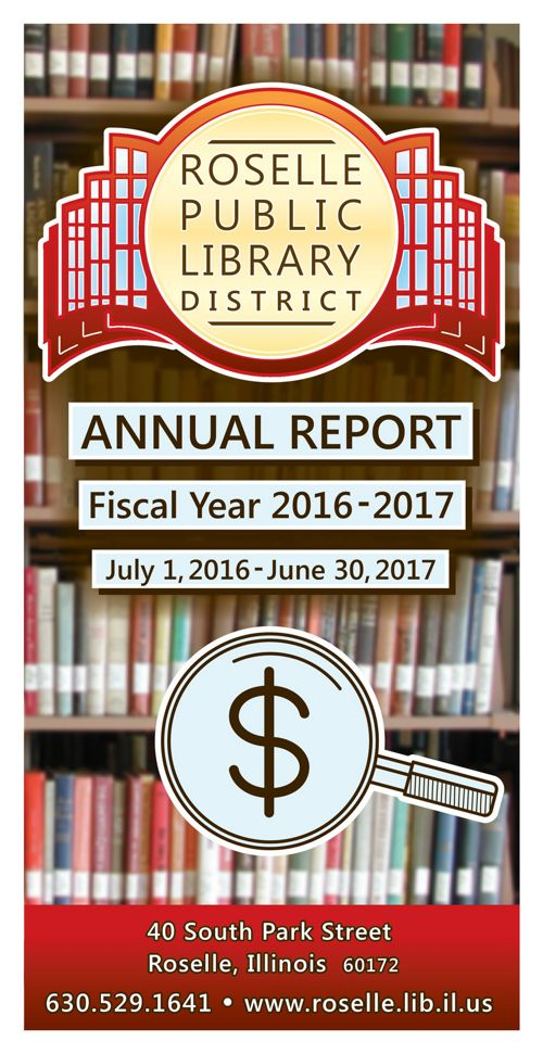 Roselle Public Library Annual Report 2016-17