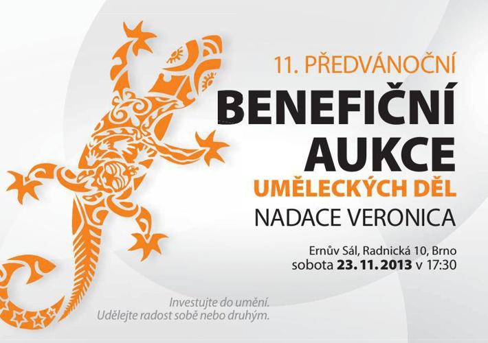 Nadace Veronica - 11. Benefiční aukce uměleckých děl