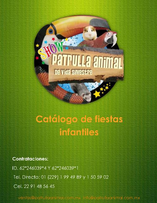 Catalogo 2012 patrulla Animal