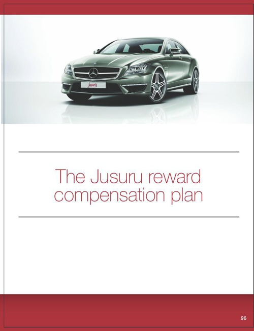 The Jusuru Reward Compensation Plan1