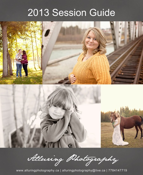Alluring Photography 2013 Client Guide