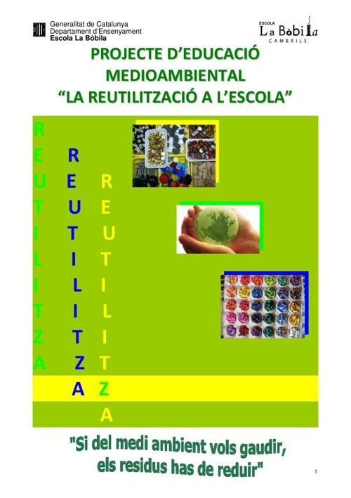 Projecte REUTILITZACIÓ
