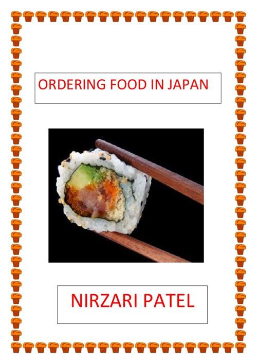 Nirzari Ordering Food portfolio Task...