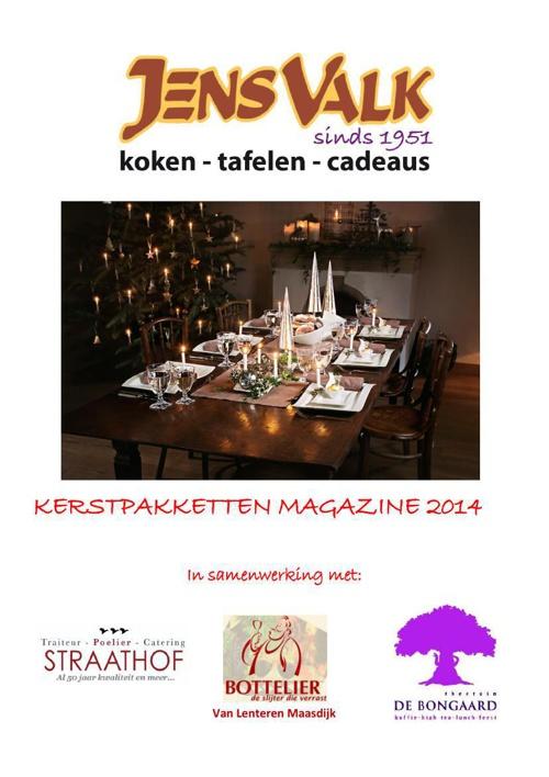 Kerstpakkettenmagazine 2014