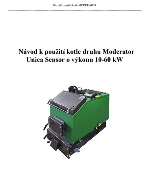 Copy of Moderator unica sensor