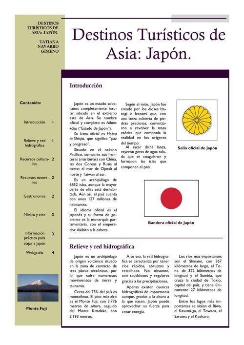 Japón revista
