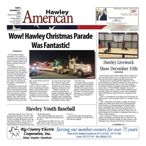 Hawley - Volumn 7 Issues 23