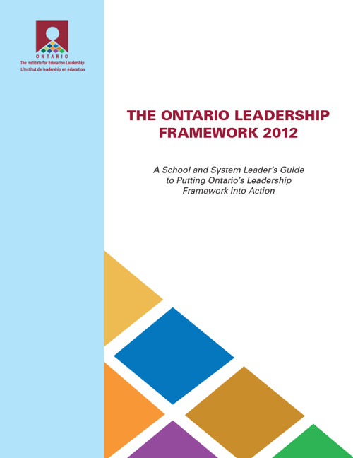 Ontario Leadership Framework 2012