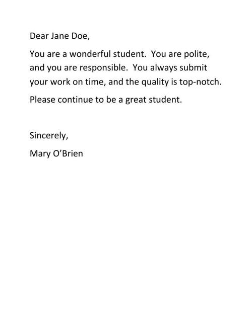 Dear Jane Doe pdf