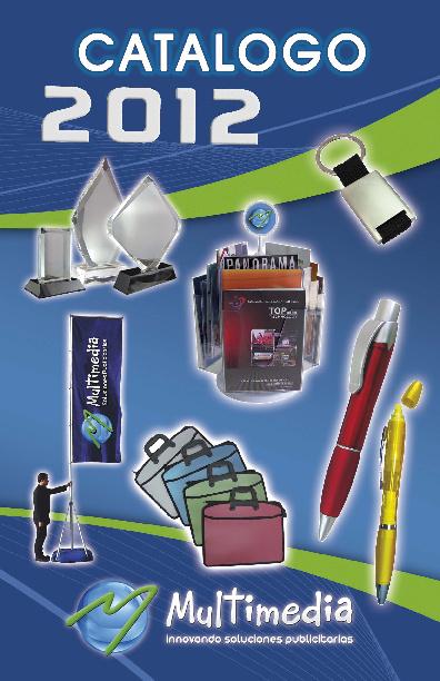 Catálogo Multimedia 2012
