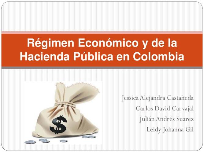 Régimen Económico y de la Hacienda Pública