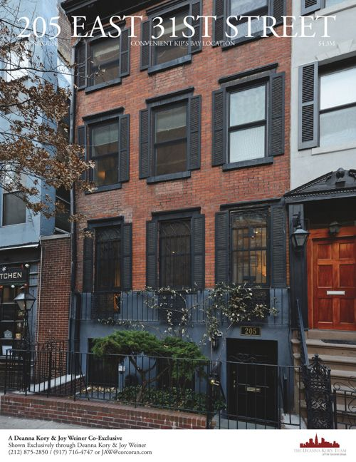 205 East 31st Street Townhouse Brochure