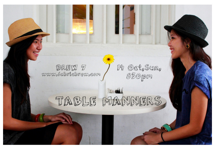 LOOKBOOK 7: TABLE MANNERS