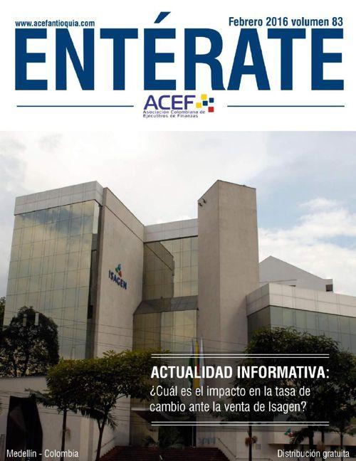 ACEF ENTÉRATE FEBRERO 2016