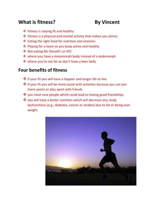 health assignment - floor ball