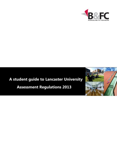 Student FAQ Assessment Regulations