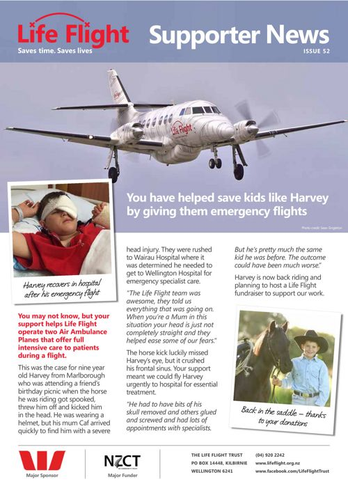 Life Flight Newsletter - Issue 52