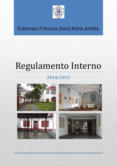 REGULAMENTO INTERNO 2014 2015