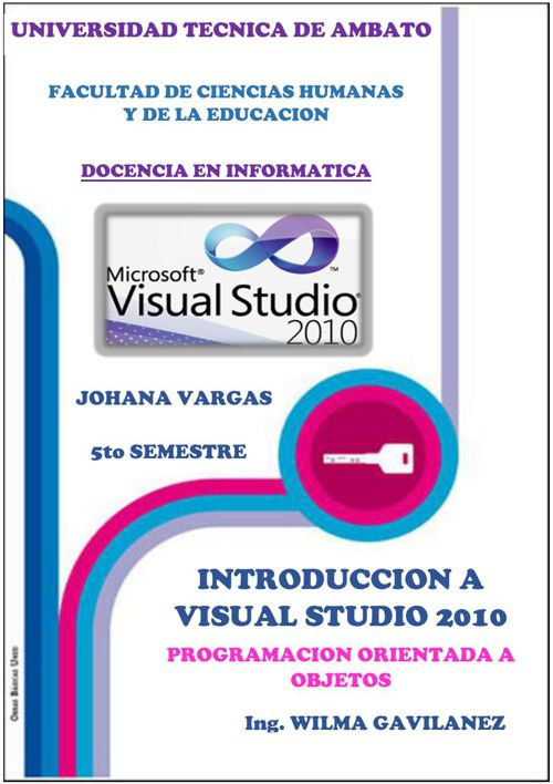 ENTORNO VISUAL STUDIO 2010