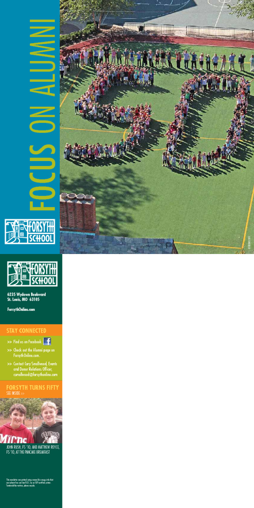 Forsyth School Alumni Newsletter Spring 2012