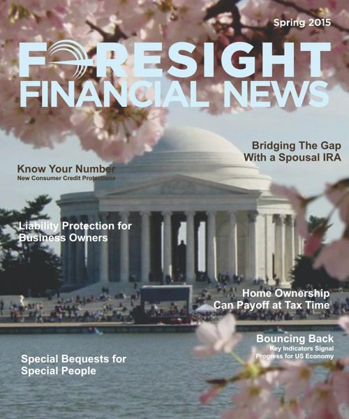 Foresight Financial News - Spring 2015