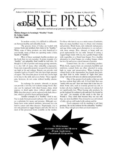 AHS Free Press