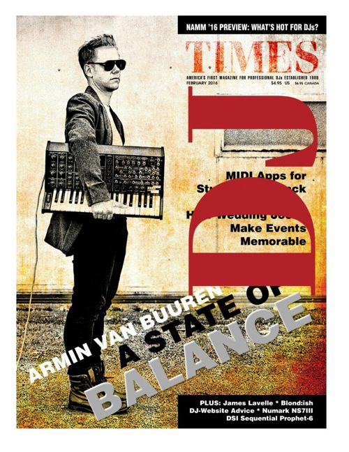 James Lavelle DJ Times February 2016