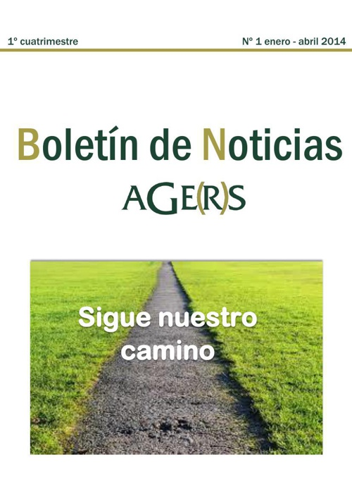 Boletín informativo AGERS