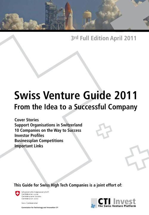 Swiss Venture Guide 2011