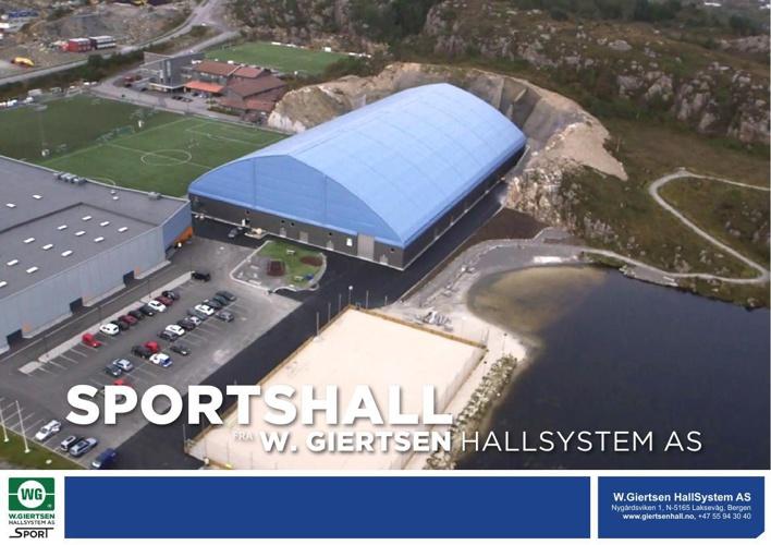 Building Sotra Footballhall