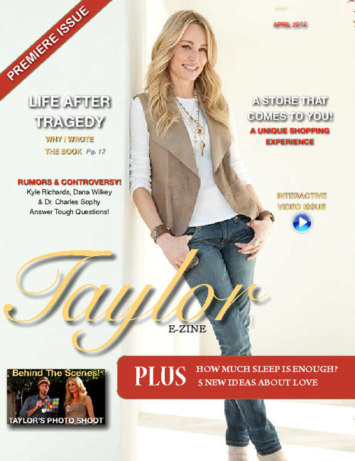 Taylor - Premiere Issue